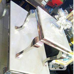 Imported Marble Center Table Side Stools   Furniture for sale in Lagos State, Ilupeju