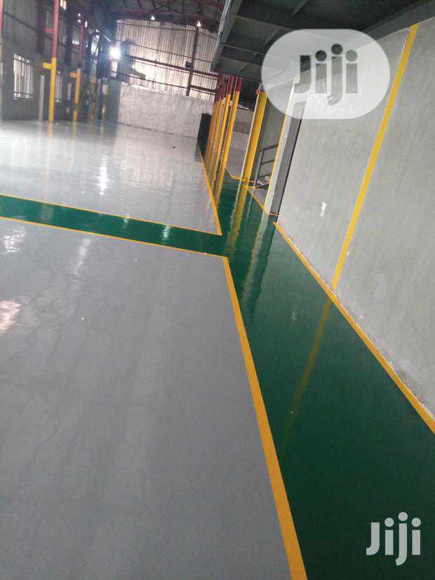 Powerful Epoxy Floor