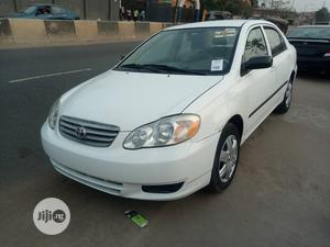 Toyota Corolla 2003 Sedan Automatic White | Cars for sale in Lagos State, Isolo