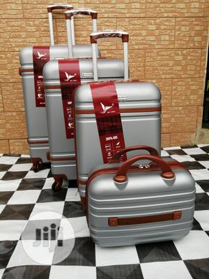 Silver Colored Travel Luggage Bags (4 Sets) | Bags for sale in Lagos State, Ikeja