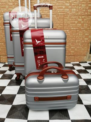 Nice And Attractive Silver Colored Trolley Luggage (4 Sets) | Bags for sale in Lagos State, Ikeja
