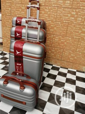 Reasonable Priced Silver Color Trolley Luggage Bags (4 Sets) | Bags for sale in Lagos State, Ikeja