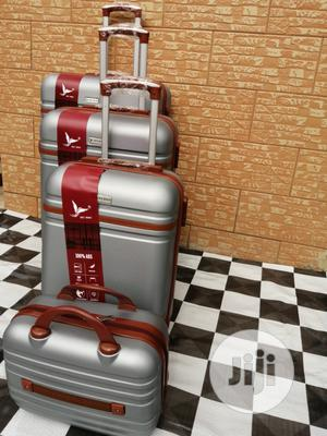 Quality Silver Color Trolley Luggage Bags | Bags for sale in Lagos State, Ikeja