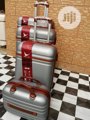 Super Cute Silver Color Trolley Luggage Suite Case (4 Sets) | Bags for sale in Lagos State, Ikeja
