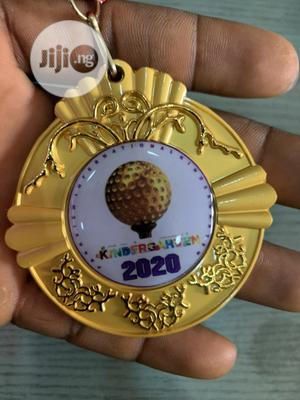 Original Award Medal With Printing   Arts & Crafts for sale in Lagos State, Gbagada
