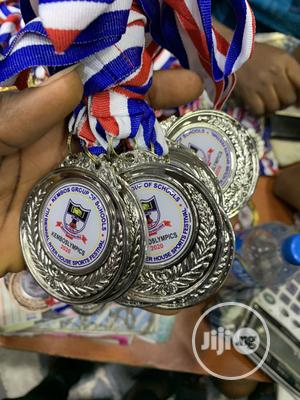 Sports Award Medal With Print | Arts & Crafts for sale in Lagos State, Agboyi/Ketu