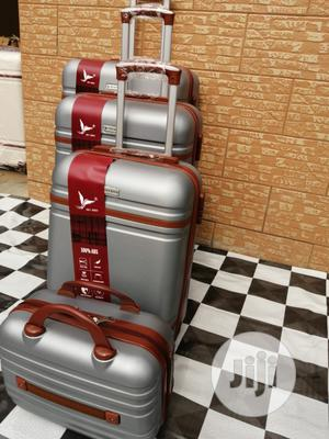 Silver Color Trolley Luggage Bags (4 Sets) For Family Travels   Bags for sale in Lagos State, Ikeja