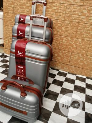 Trolley Suite Case Luggage (4 Sets) Silver Color Available For Sale | Bags for sale in Lagos State, Ikeja