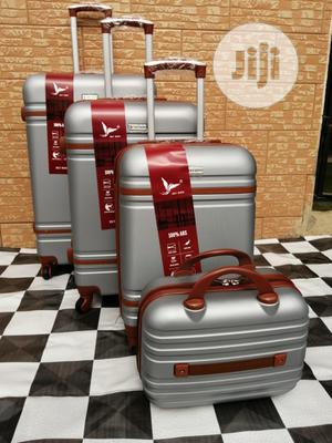 Luggage Trolley Bags (4 Sets) Silver Color For Unisex Use | Bags for sale in Lagos State, Ikeja