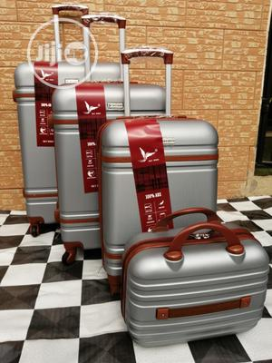 Beautiful Silver Color Trolley Bags (4 Sets) Available Now In Ikeja   Bags for sale in Lagos State, Ikeja