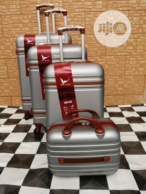 4 Sets Silver Color Travelling Luggage Bags Available Now | Bags for sale in Lagos State, Ikeja