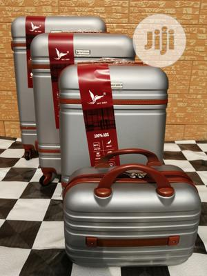 Affordable (4 Sets) Of Silver Trolley Luggage Bags In Ikeja Lagos | Bags for sale in Lagos State, Ikeja