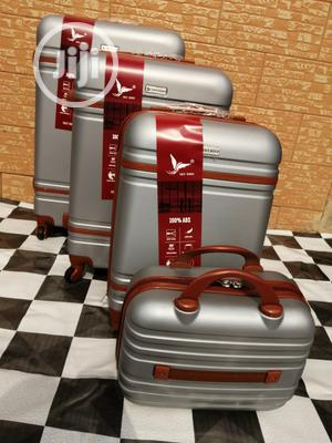 Beautiful Silver Color Luggage Bags (4 Sets) Available In Stock | Bags for sale in Lagos State, Ikeja