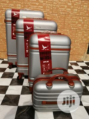 Wheels Silver Color Suite Case Luggage (4 Sets) Available For Sale | Bags for sale in Lagos State, Ikeja
