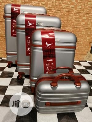 Cool Silver Color Trolley Bags (4 Sets) For Guys Travel | Bags for sale in Lagos State, Ikeja