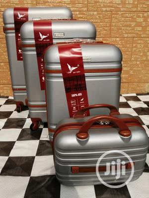 Super Cool Silver Color Suite Case Luggage Bags (4 Sets) | Bags for sale in Lagos State, Ikeja