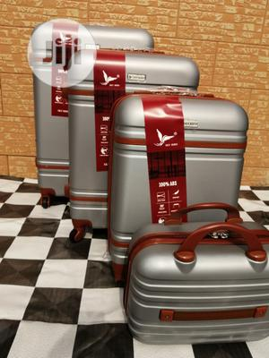 Cool Wheels Silver Color Trolley Luggage Bags (4 Sets) Available | Bags for sale in Lagos State, Ikeja