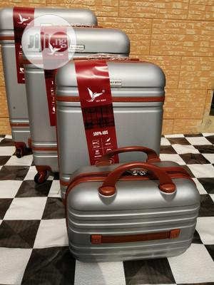 Travel Luggage Bags (4 Sets) Of Silver Color For Cool Guys | Bags for sale in Lagos State, Ikeja