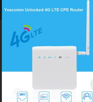 Yeacomm P25 Unlocked 300mbps Wireless Mobile 4G Indoor LTE CPE Wifi   Networking Products for sale in Lagos State, Ikeja