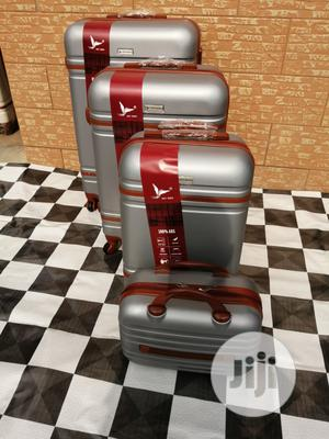 Sets Of Travel Trolley Luggage Bags (Silver Color) | Bags for sale in Lagos State, Ikeja