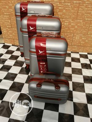 Sets Of 4 Silver Trolley Luggage Bags For International Travels | Bags for sale in Lagos State, Ikeja