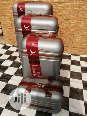 Designers Silver Color Trolley Luggage Bags (4 Sets) | Bags for sale in Lagos State, Ikeja