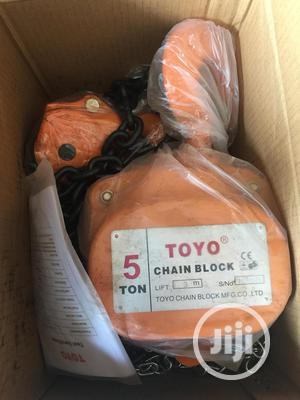 Chain Block 5tons X 3mtrs TOYO   Manufacturing Equipment for sale in Rivers State, Port-Harcourt