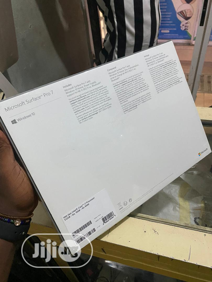 New Laptop Microsoft Surface Pro 16GB Intel Core i7 SSD 512GB | Laptops & Computers for sale in Central Business District, Abuja (FCT) State, Nigeria