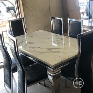 Imported Marble Dining Table | Furniture for sale in Lagos State, Lagos Island (Eko)