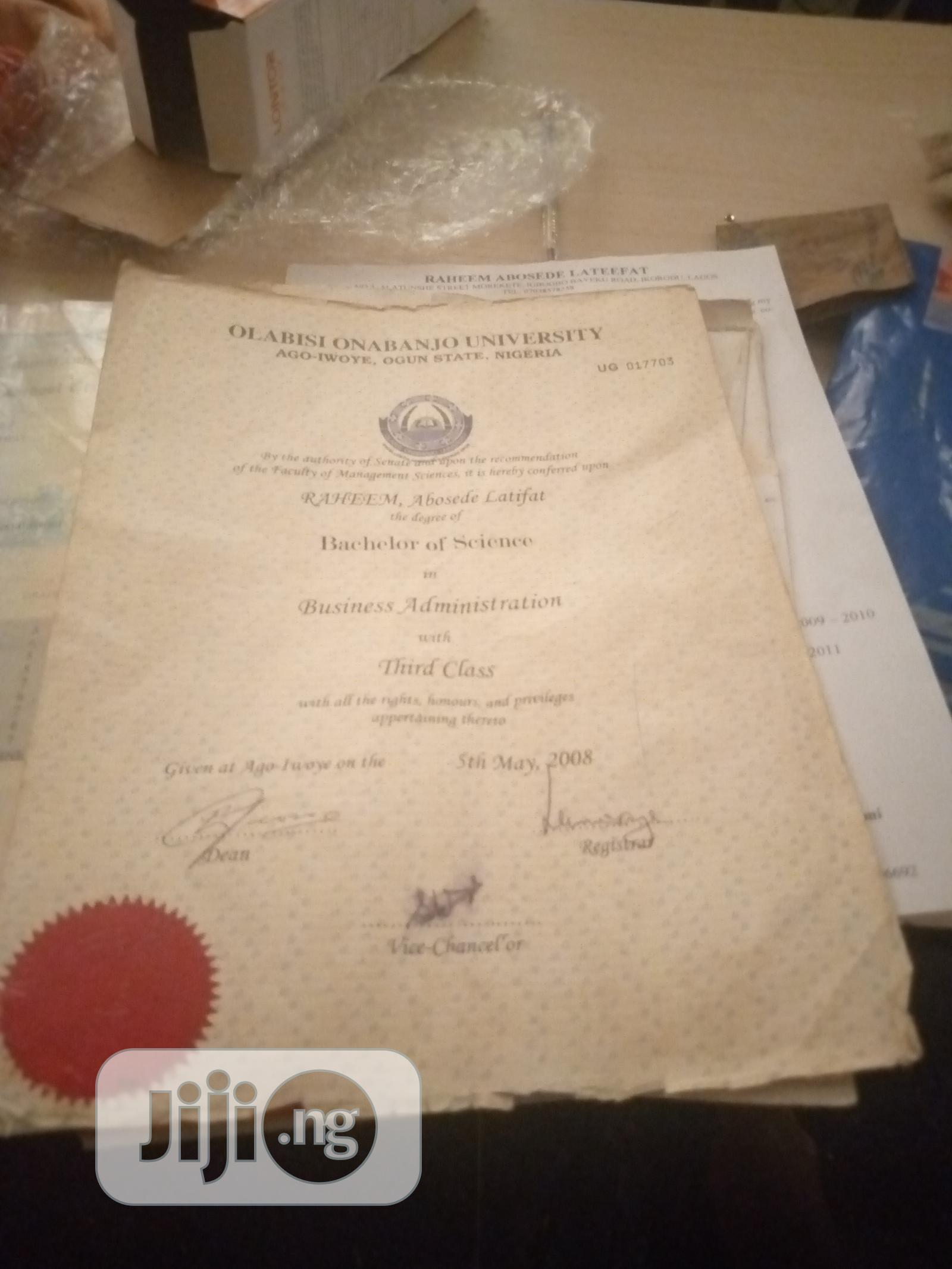 Clerical & Administrative CV