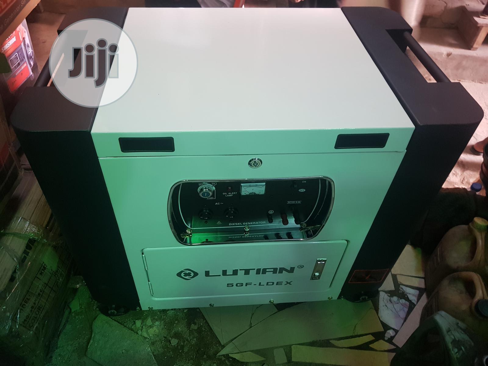 Lutian 10kva DIESEL Soundproof Generator | Electrical Equipment for sale in Ojo, Lagos State, Nigeria