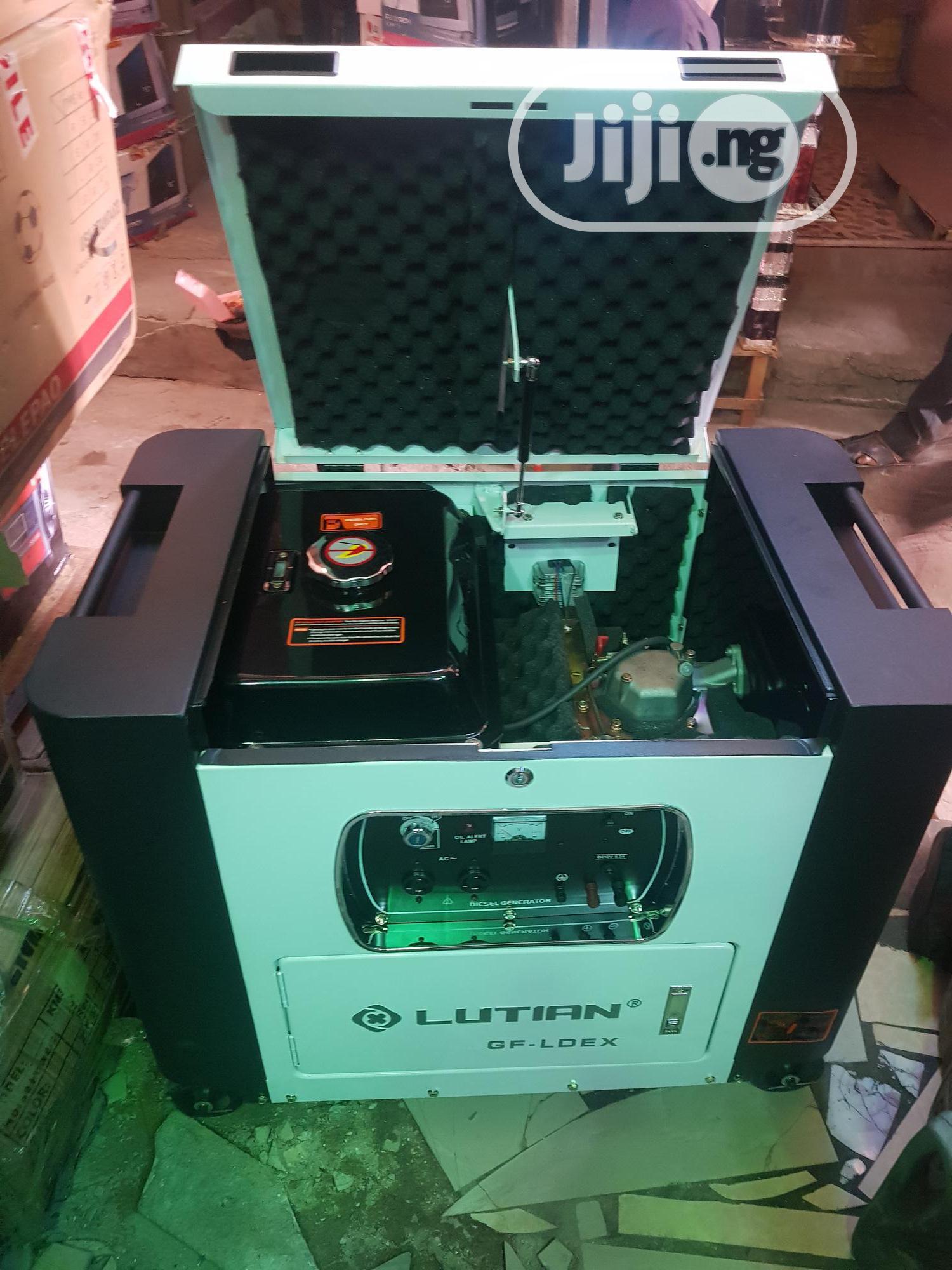 Lutian 10kva DIESEL Soundproof Generator