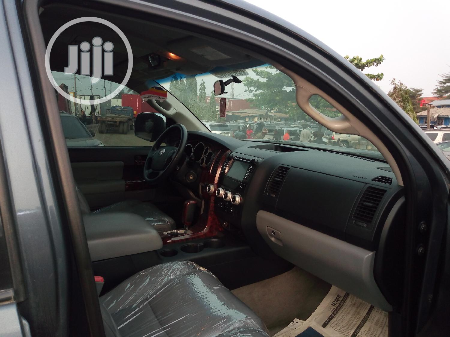 Toyota Sequoia 2011 Gray | Cars for sale in Apapa, Lagos State, Nigeria