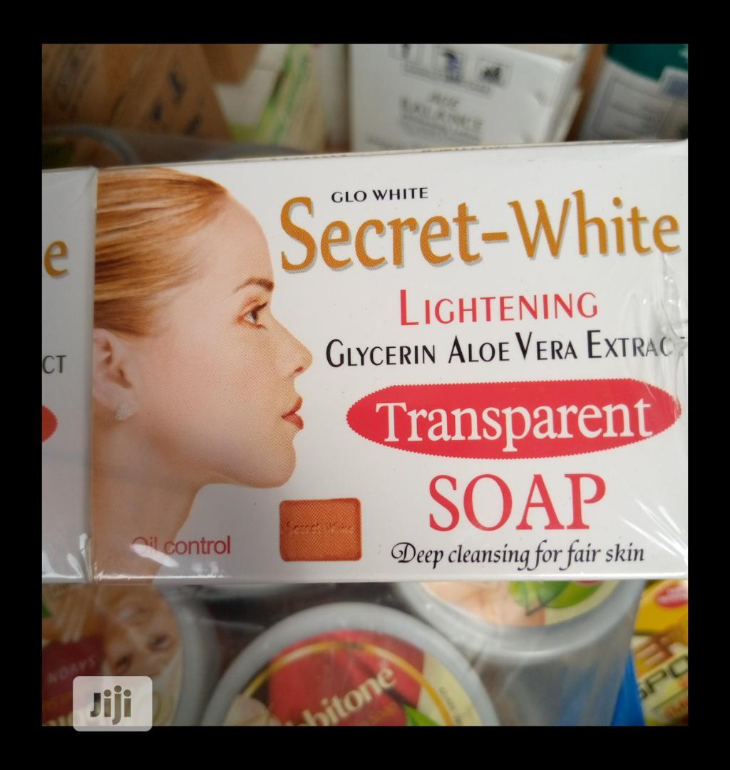 Secret White Lightening Transparent Soap