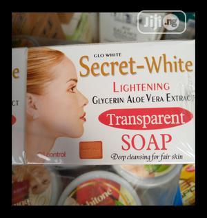 Secret White Lightening Transparent Soap | Bath & Body for sale in Lagos State, Ojo