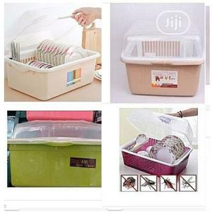 Dish Drainer With Cover Plate Rack   Kitchen & Dining for sale in Abuja (FCT) State, Karu