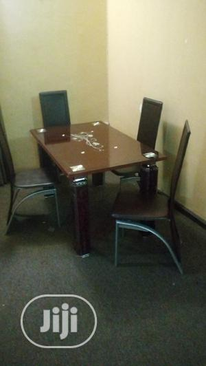 Dinning Table With 4 Chairs | Furniture for sale in Lagos State, Ojo