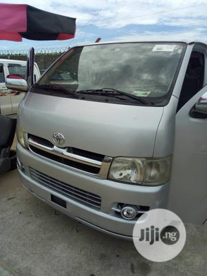 Tokunbo Toyota Hiace Petrol (Hummer Bus ) 2012 Silver | Buses & Microbuses for sale in Lagos State, Ojo