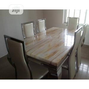 High Grade Marble Dining Table   Furniture for sale in Lagos State, Ipaja