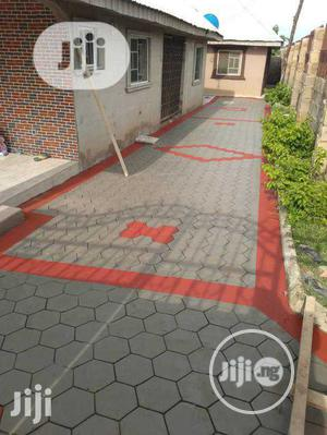 Concrete Stamp Floor | Landscaping & Gardening Services for sale in Lagos State, Lekki