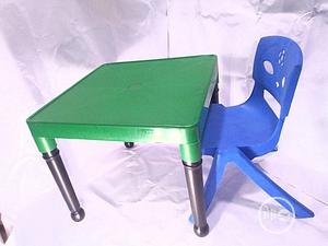 Kids Plastic Strong Table And Chair   Children's Furniture for sale in Lagos State, Yaba