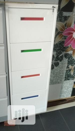 Metal Filing Cabinet (Colour Handle) | Furniture for sale in Lagos State, Lekki