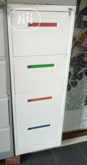 Metal Filing Cabinet ( Colour Handle) | Furniture for sale in Lagos State, Ajah
