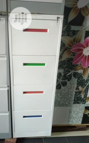Metal Filing Cabinet ( Colour Handle) | Furniture for sale in Lagos State, Ikoyi
