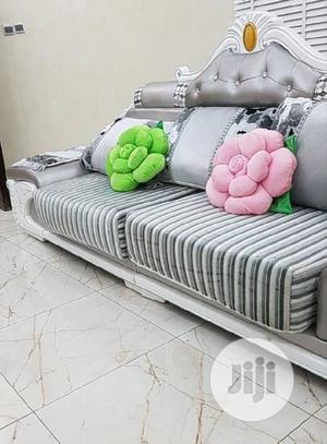 Sofa Chair With Center Table And Two Side Stool | Furniture for sale in Lagos State, Ojo
