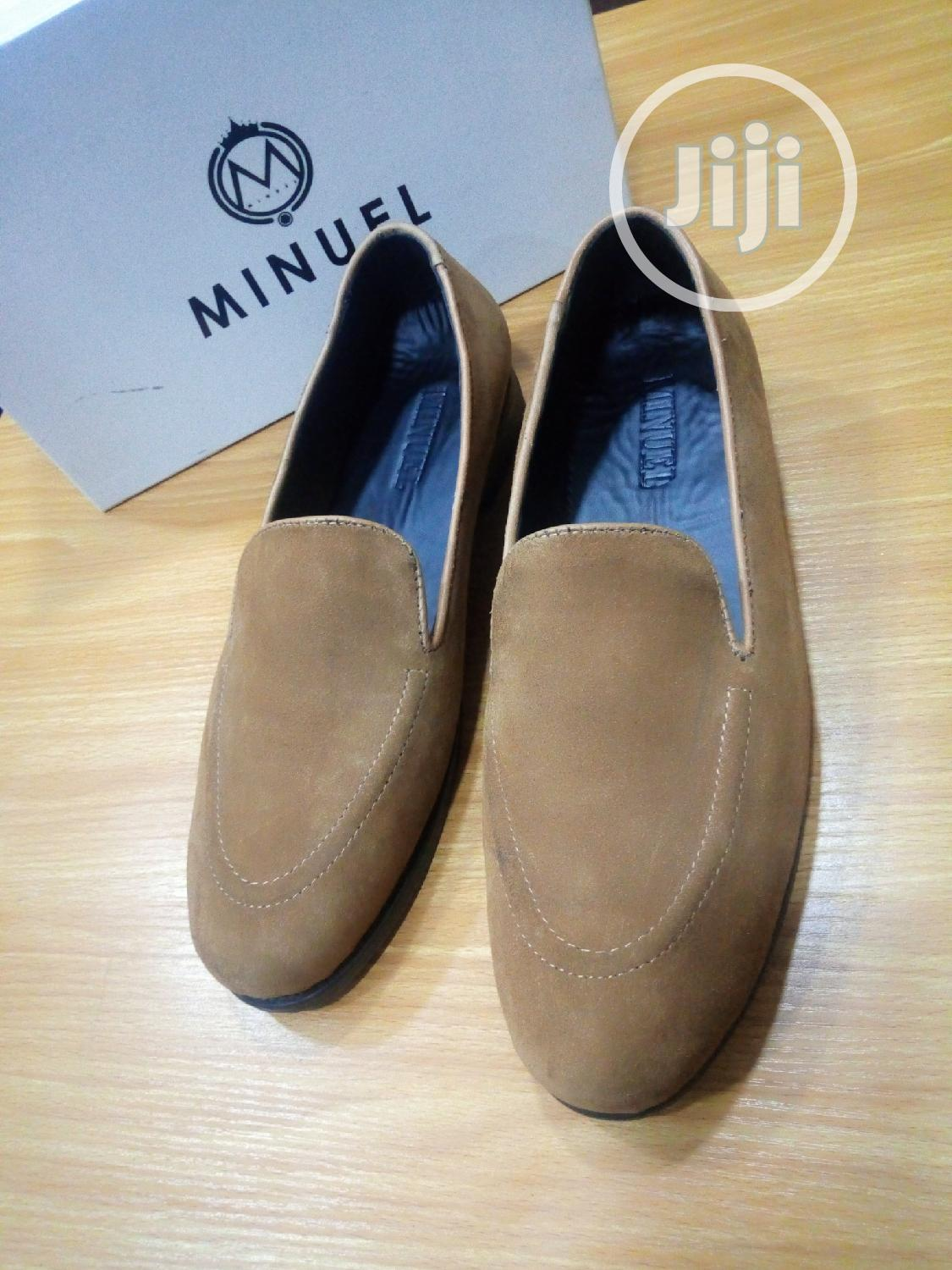 Brown Suede Loafers | Shoes for sale in Mushin, Lagos State, Nigeria
