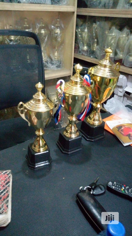 Set Of Award Trophy