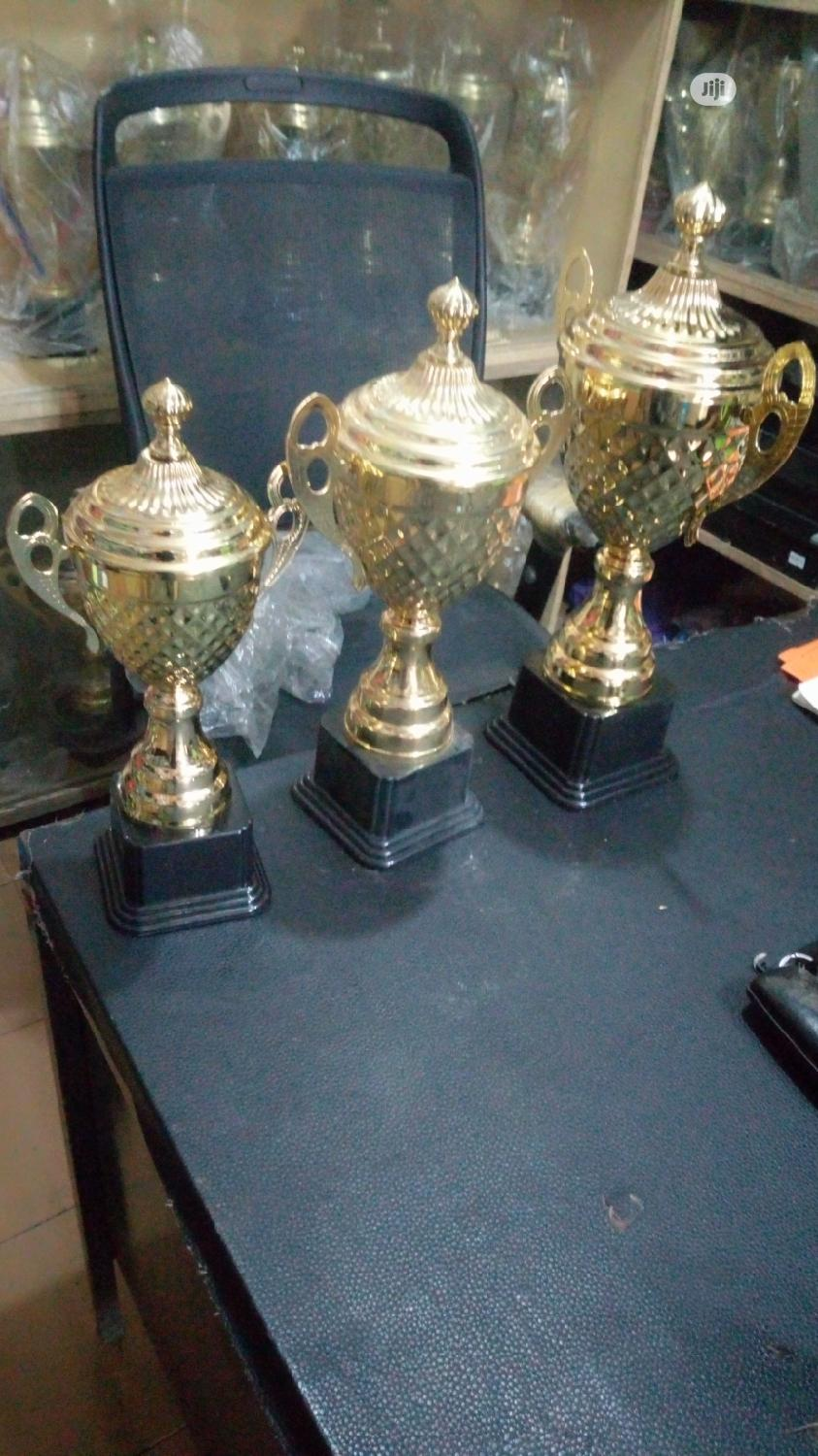 Set Of Award Trophy   Arts & Crafts for sale in Surulere, Lagos State, Nigeria