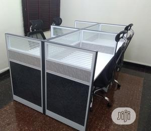Workstation Table By 4   Furniture for sale in Lagos State, Badagry