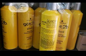 Schwarzkopf Got2b Glued Blasting Freeze Spray (Big Size) | Hair Beauty for sale in Lagos State, Agboyi/Ketu